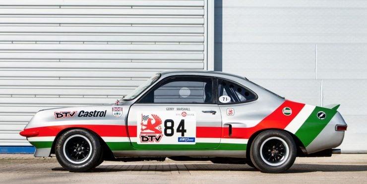 Vauxhall Firenza Side