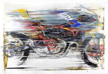 XTR Pepo Ducati Pantah Art