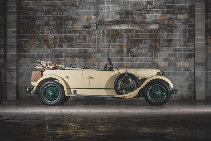 Duesenberg Model X Rear Top Down