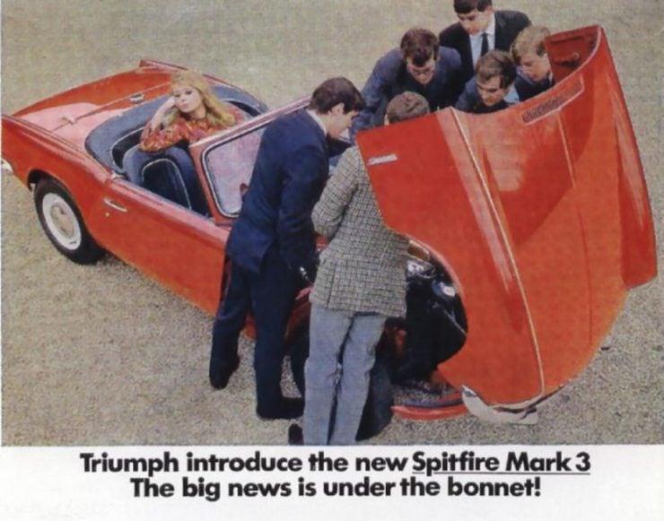 Triumph Spitfire sports car