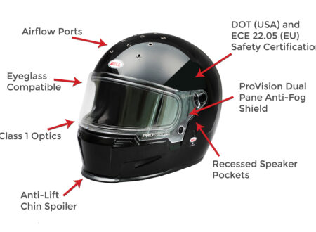 Bell Eliminator Helmet Features