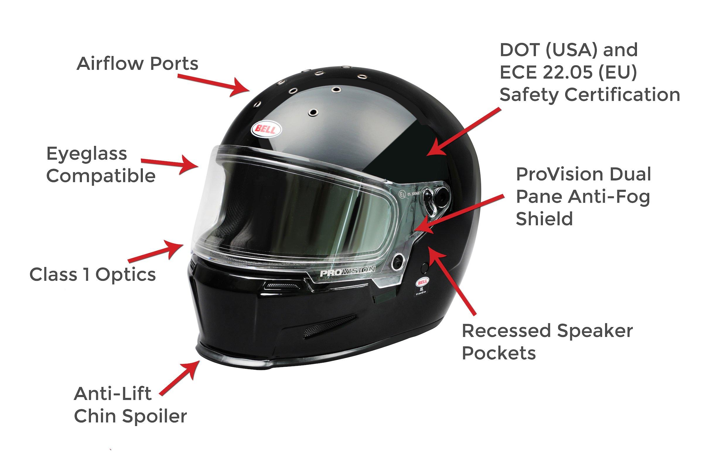 Bell Eliminator Helmet Features