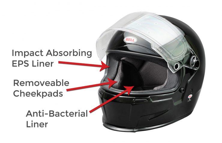 Bell Eliminator Helmet Interior Features