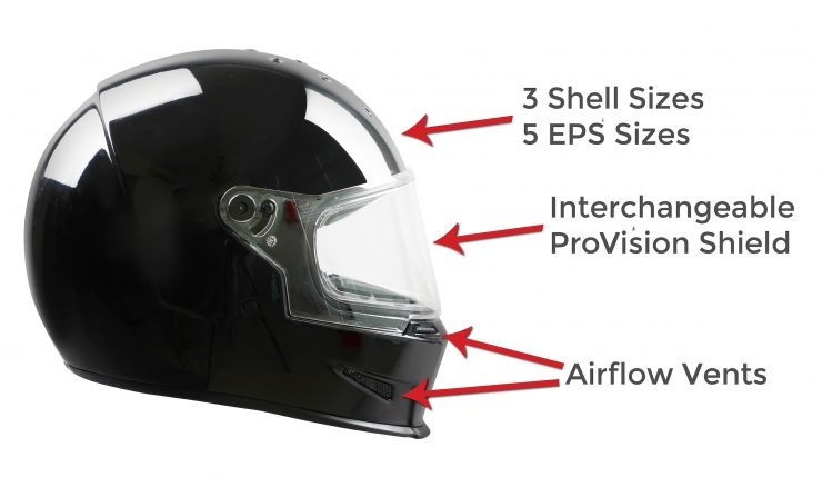 Bell Eliminator Helmet Profile Features