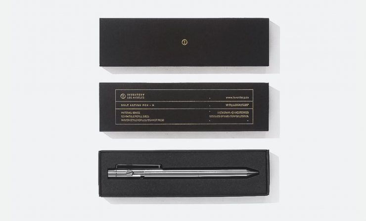 Bolt Action Pen L Box