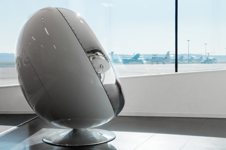 British Aerospace 146 Jet Engine Cowling Chair 2