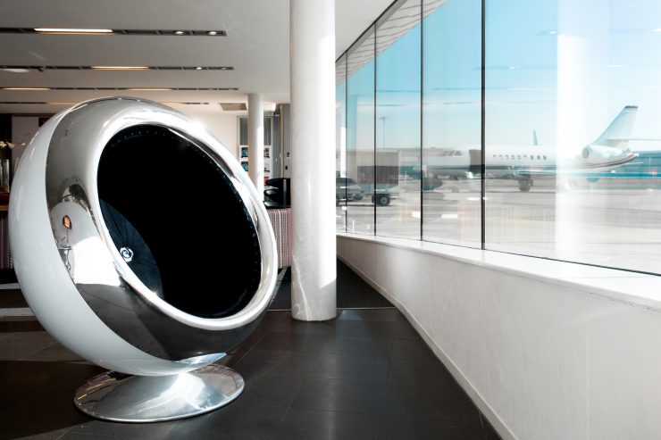 British Aerospace 146 Jet Engine Cowling Chair 3