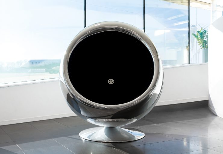 British Aerospace 146 Jet Engine Cowling Chair 6