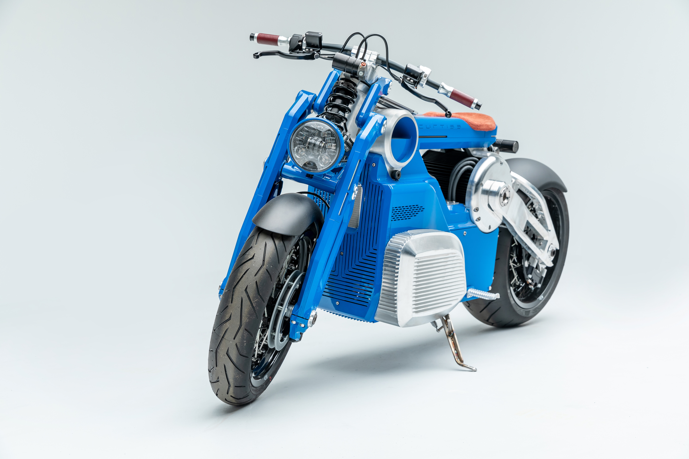 The Curtiss Zeus Electric Motorcycle - 190 HP - 0-60 MPH In