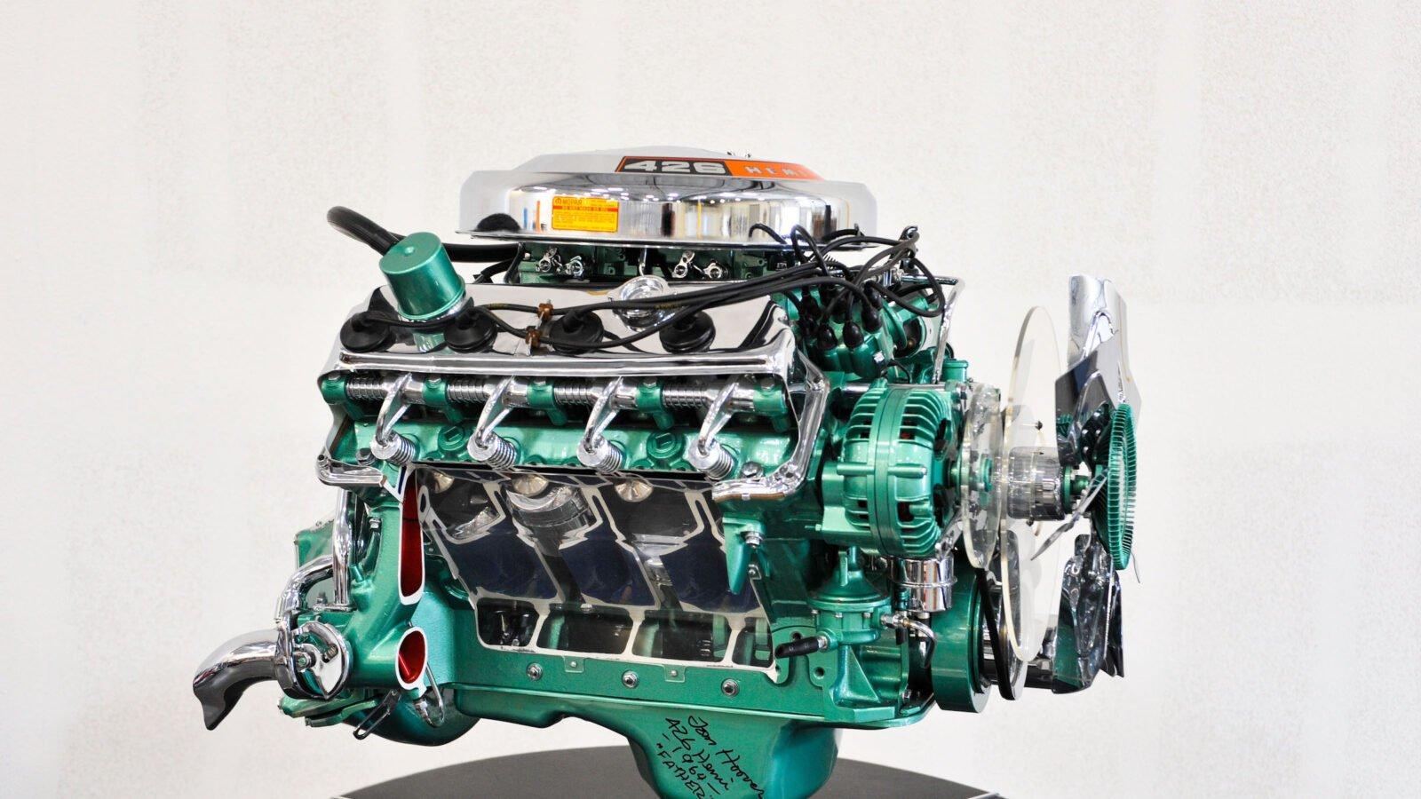Dodge 426 Hemi V8 Engine