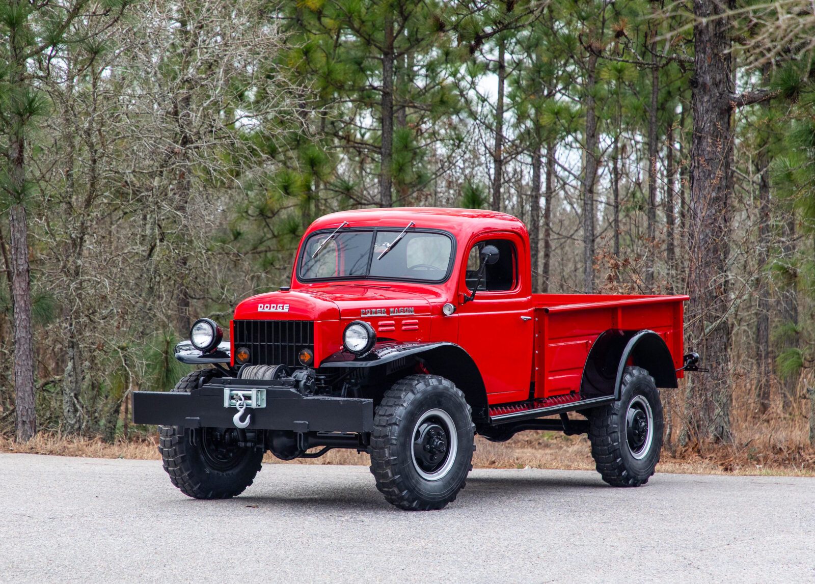 Dodge Power Wagon >> A Comprehensively Restored Original Dodge Power Wagon 4x4