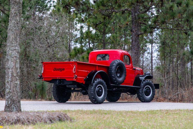 Dodge Power Wagon Rear
