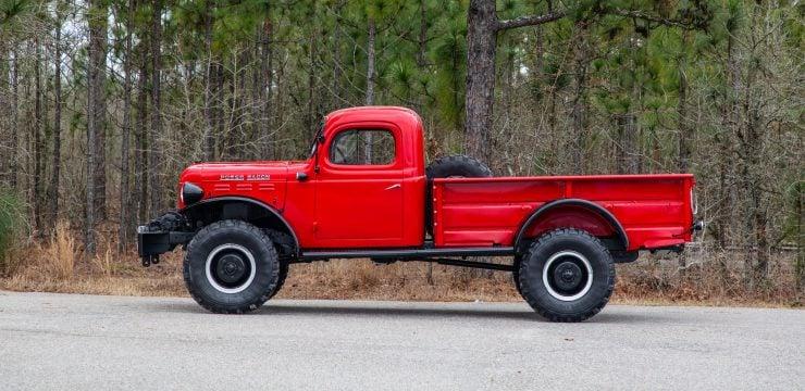 Dodge Power Wagon Side