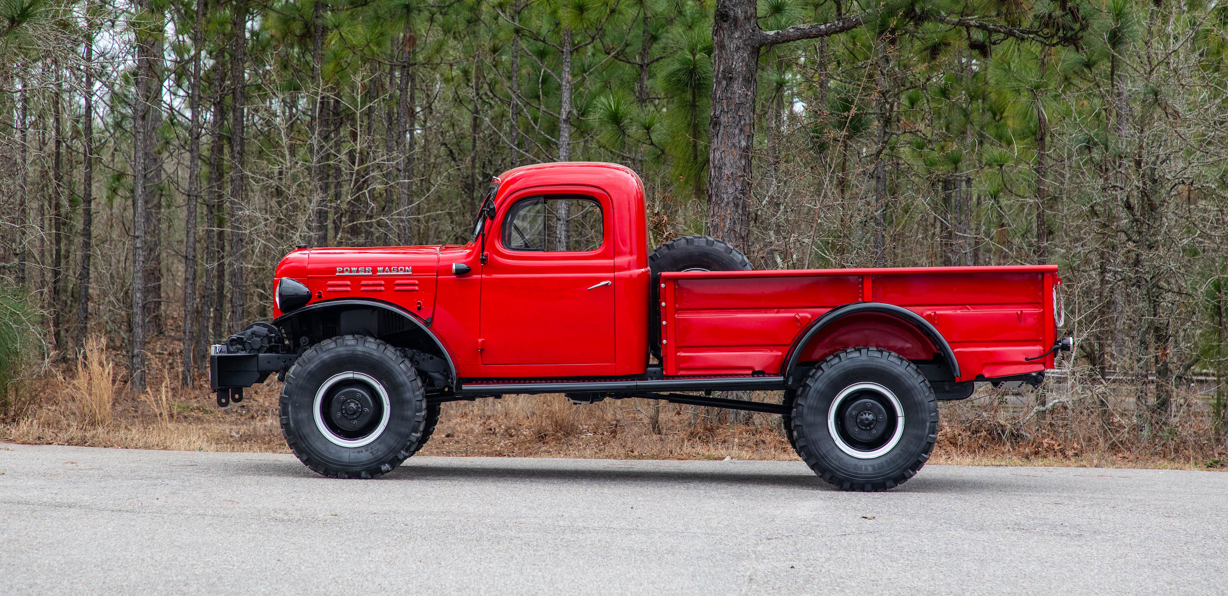 A Comprehensively Restored Original Dodge Power Wagon 4x4