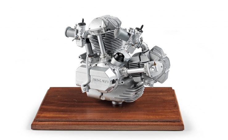 Ducati Square Case engine