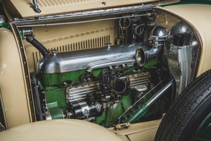 Duesenberg Model X Engine