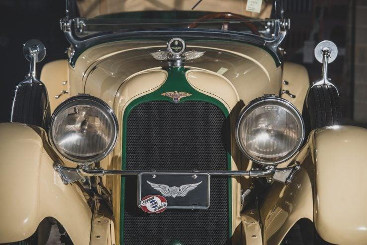 Duesenberg Model X Headlights