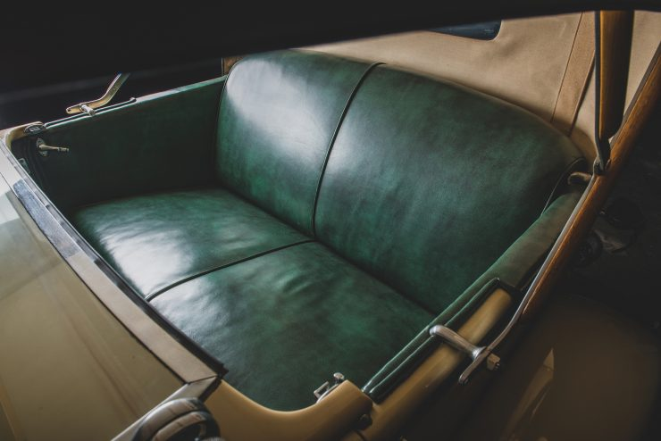 Duesenberg Model X Seats