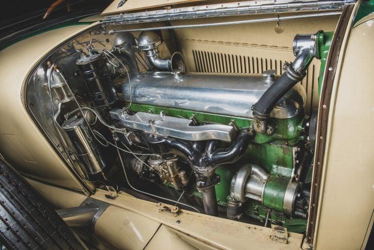 Duesenberg Model X Straight 8 Engine