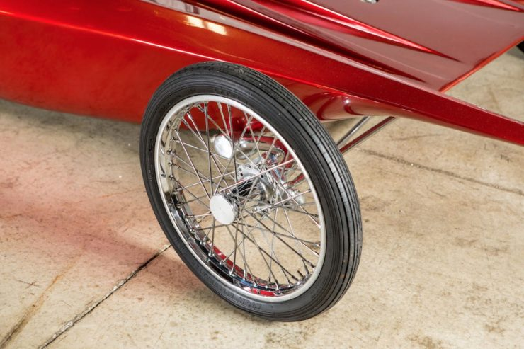 Ed Big Daddy Roth Custom Car Wishbone Front Wheel