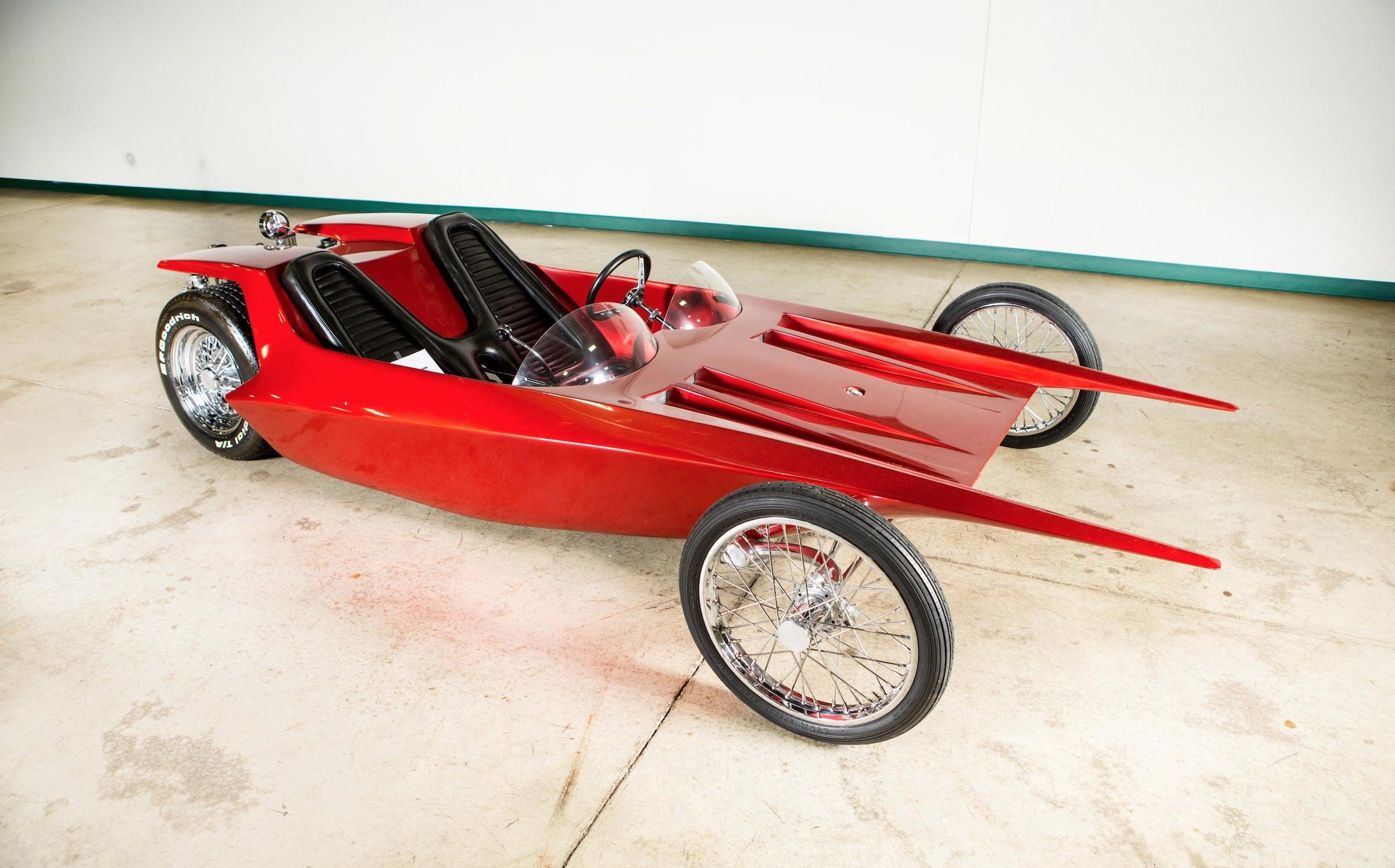 Ed Big Daddy Roth Custom Car Wishbone