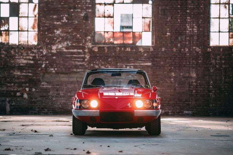 Ferrari 330 GTC Zagato Front