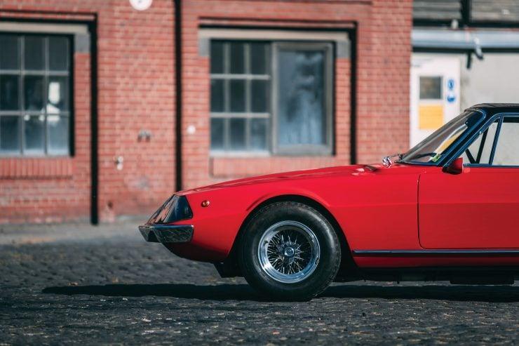 Ferrari 330 GTC Zagato Front Side