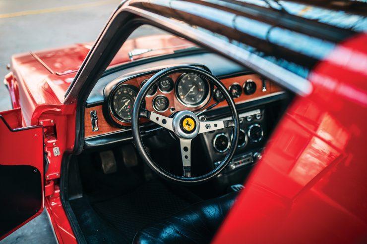 Ferrari 330 GTC Zagato Interior 2