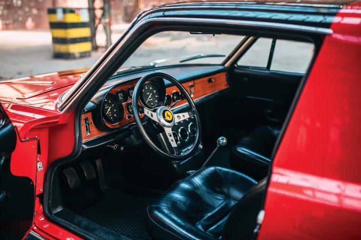 Ferrari 330 GTC Zagato Interior