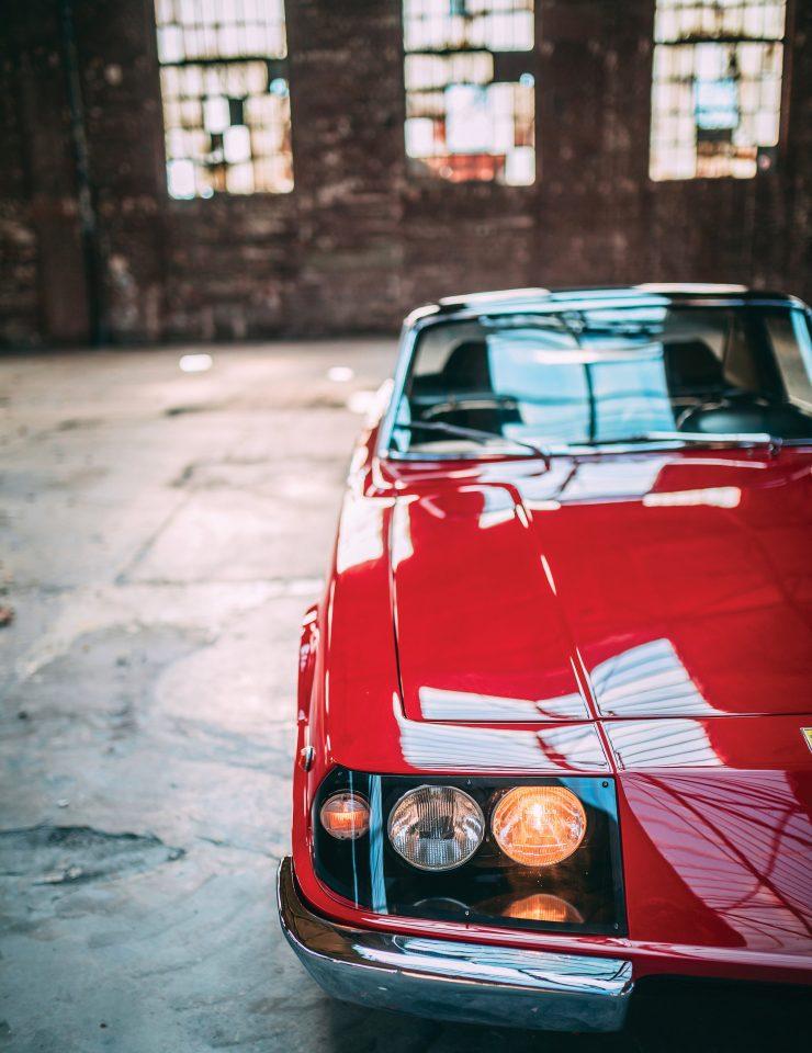 Ferrari 330 GTC Zagato Over Front