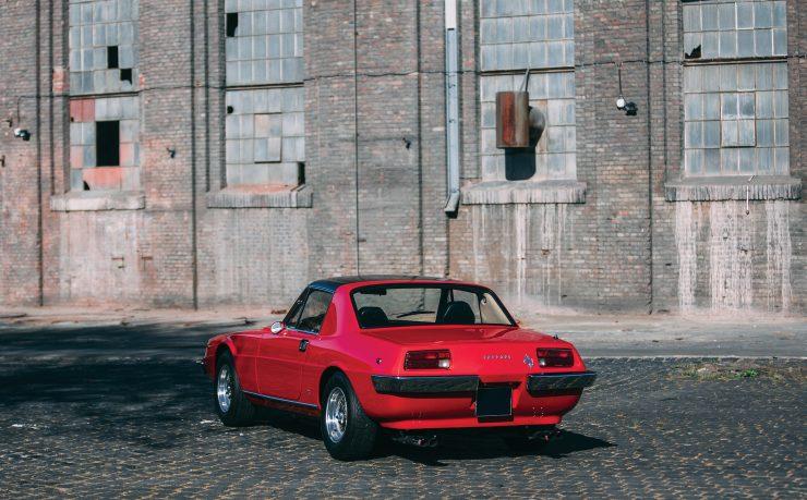 Ferrari 330 GTC Zagato Rear
