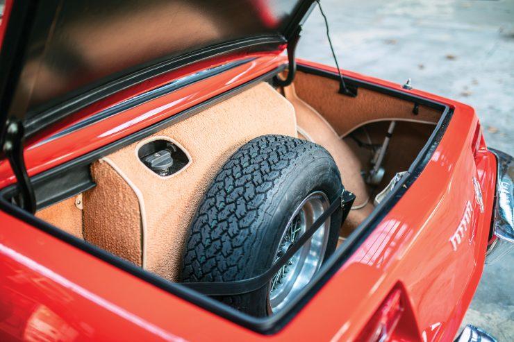 Ferrari 330 GTC Zagato Trunk
