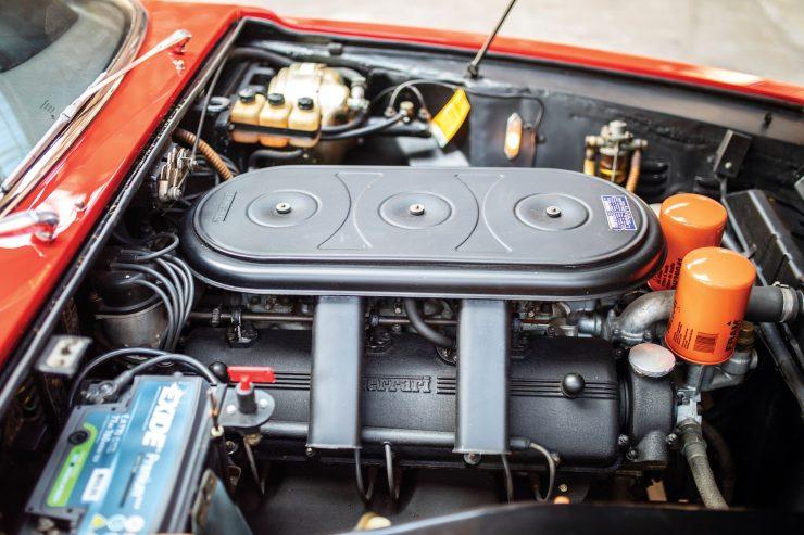 Ferrari 330 GTC Zagato V12 Engine