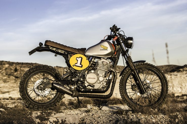 Honda Dominator NX650 Custom 10