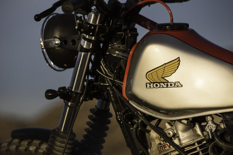 Honda Dominator NX650 Custom 7