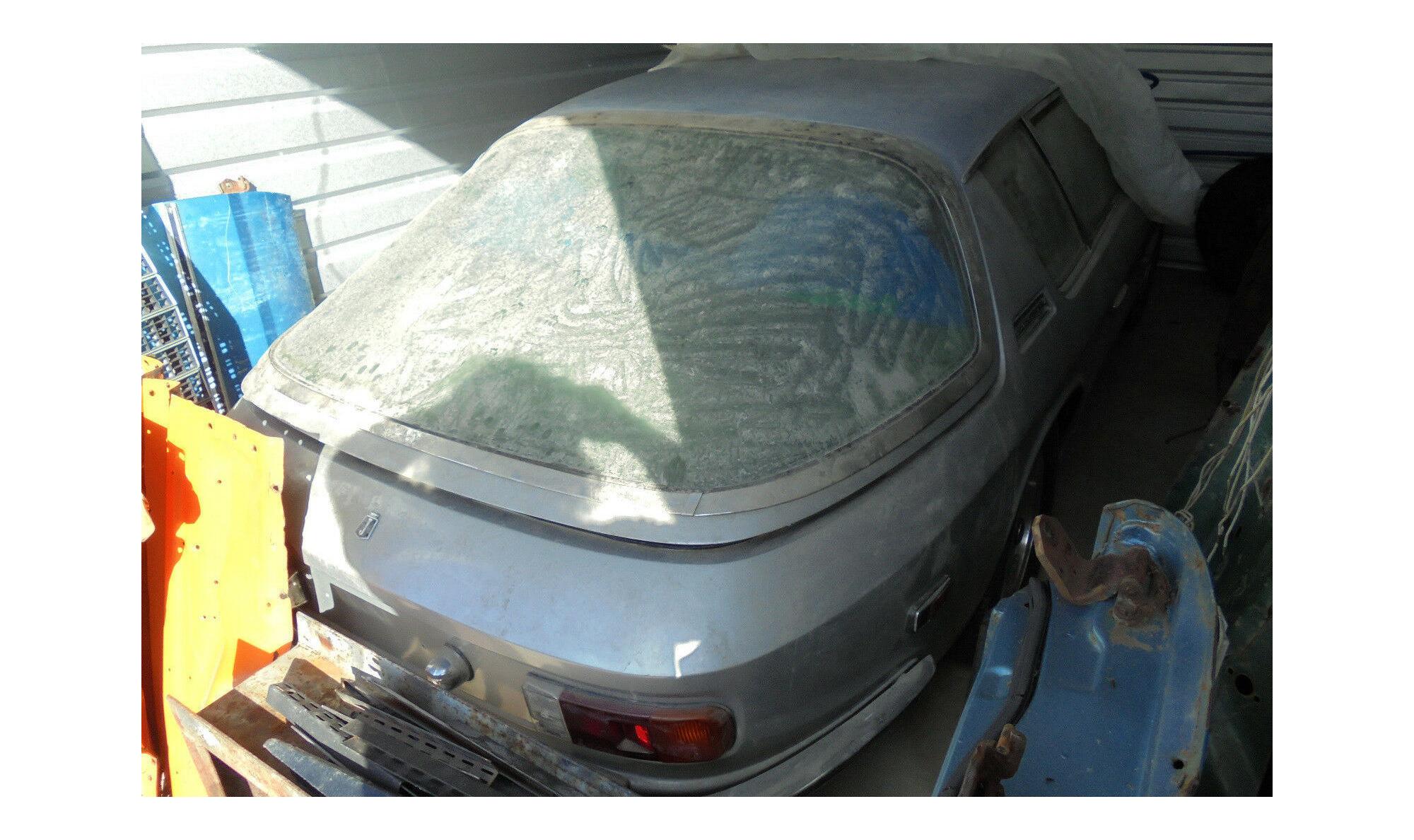 Jensen Interceptor Barn Find Car