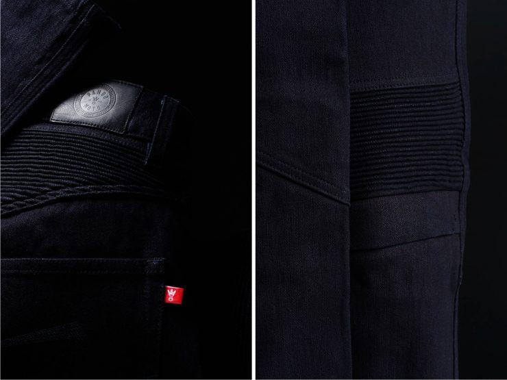 Pando Moto Karl Steel Black Dyneema Motorcycle Jeans