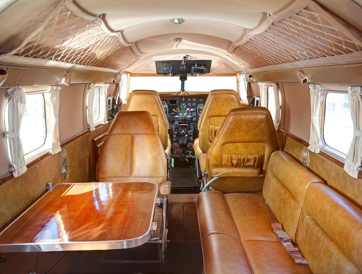 Lockheed Model 12 Interior