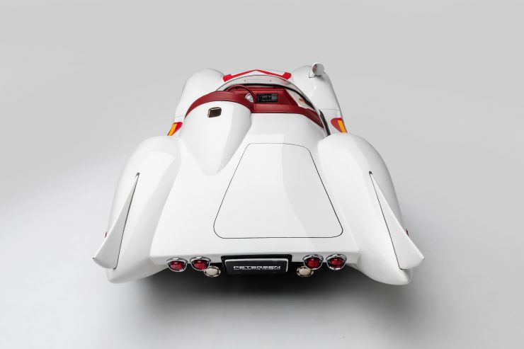 Mach 5 Cockpit Back