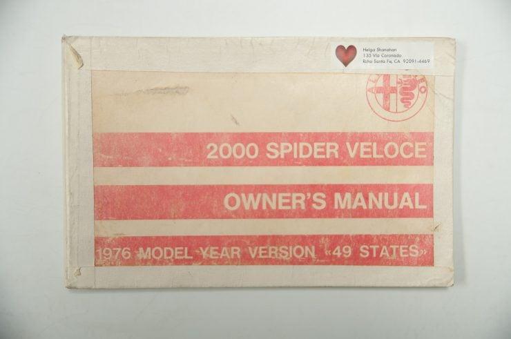 Muhammad Ali Alfa Romeo Spider Veloce Series II 3