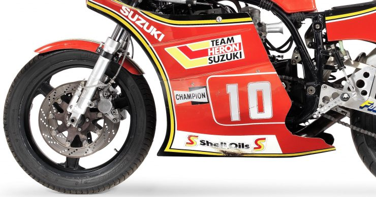 Suzuki XR69 Superbike Side
