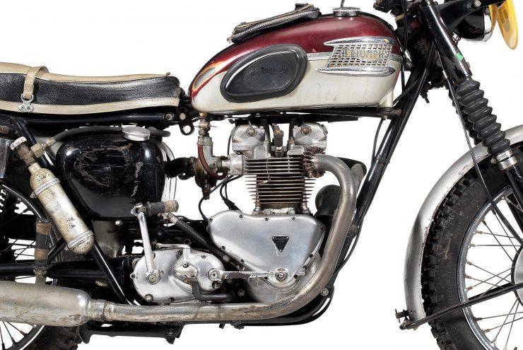 Triumph TR6SS Trophy Engine
