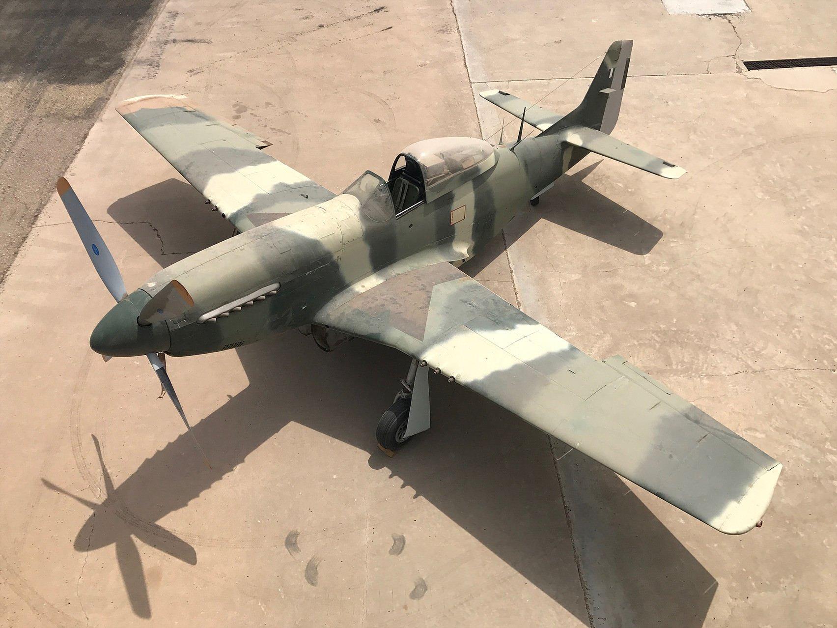 Unrestored P-51D Mustang