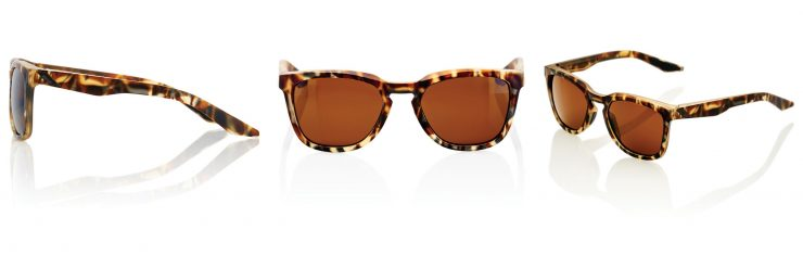 100% Hudson Sunglasses Brown