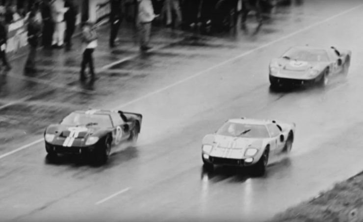 1966 24 Hours of Le Mans Finish