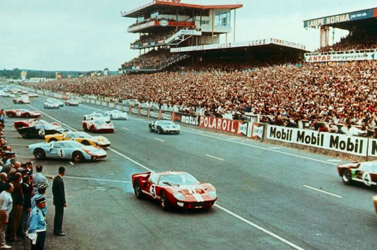 1966 24 Hours of Le Mans Start