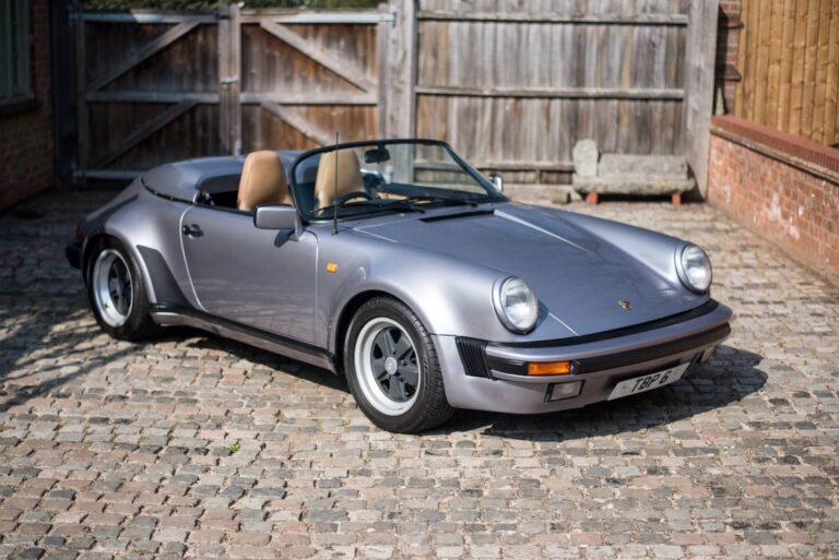 Porsche 356 For Sale >> 1989 Porsche 911 Speedster - The First 911 Speedster And ...