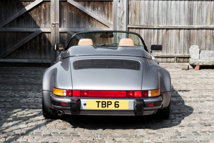 1989 Porsche 911 Speedster Back