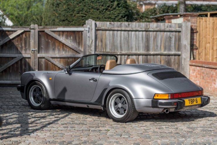 1989 Porsche 911 Speedster Rear 2