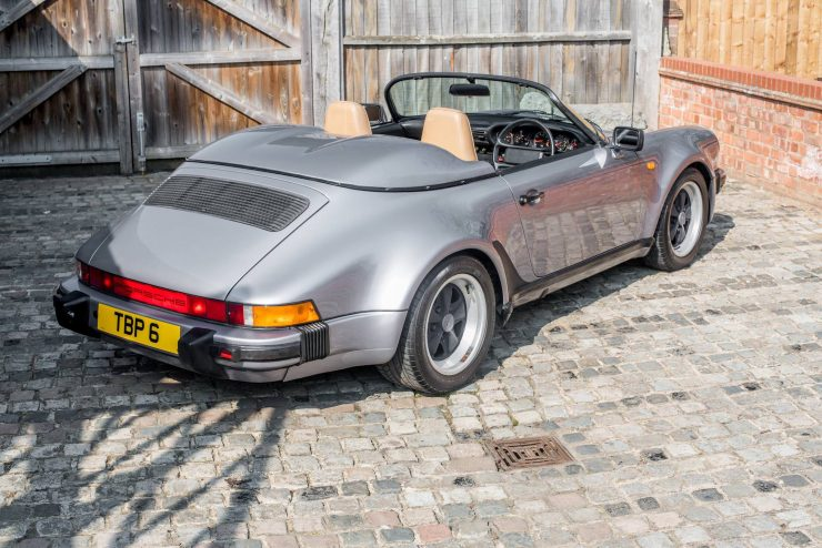 1989 Porsche 911 Speedster Rear